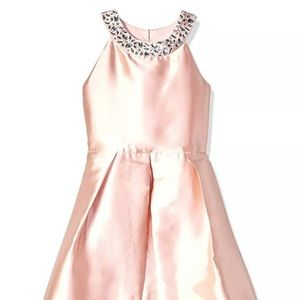 Amy Byer High-Low Beautiful Embellished dress NWT